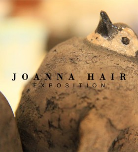 Exposition de Joanna Hair - pingouin en raku
